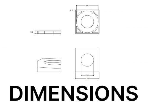 MSCP-C-Square-Cap-Simple-Drawing
